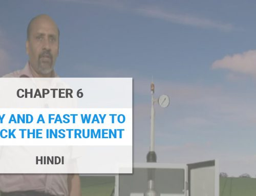 Easy and a fast way to check the instrument – Hindi