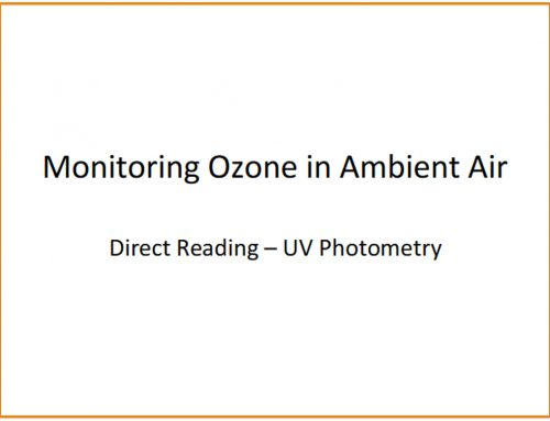 Monitoring Ozone In Ambient Air
