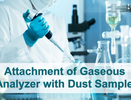 Attachment of Gaseous Analyzer with Dust Sampler
