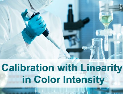 Calibration with Linearity in Color Intensity