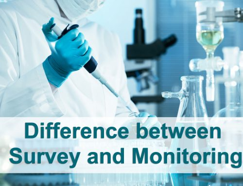 Difference between Survey and Monitoring