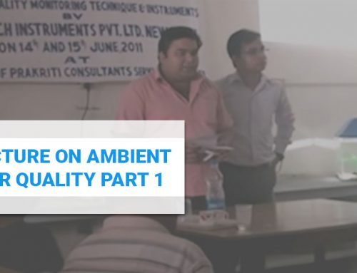 Lecture on Ambient Air Quality Part 1