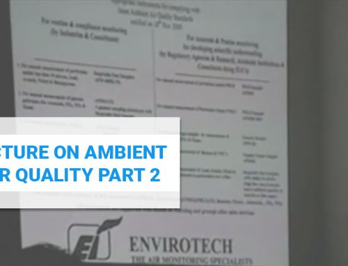 Lecture on Ambient Air Quality Part 2