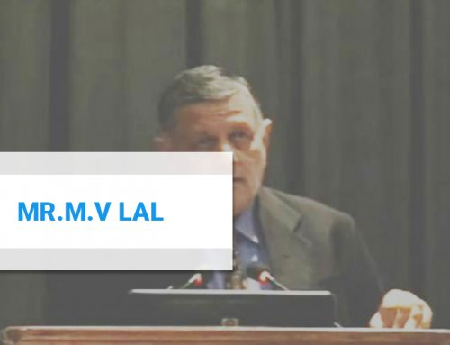 Mr. M.V Lal