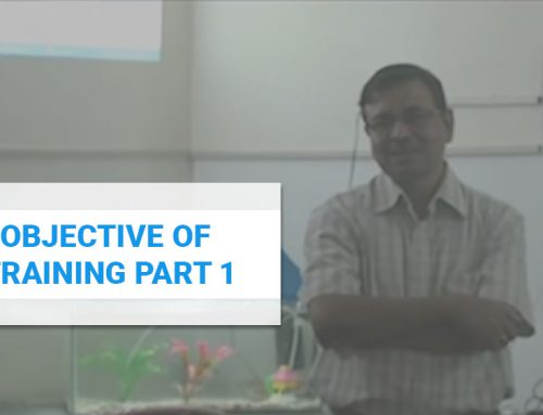 Objective of Training Part 1